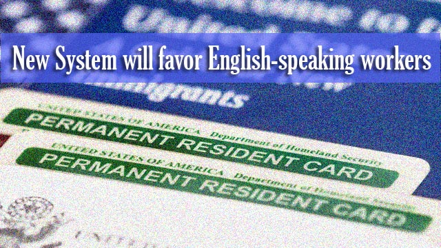 US Green Card Allocated for Fluent English Speakers