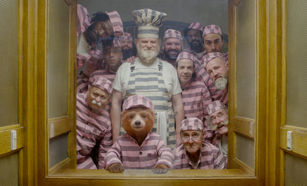 Paddington and his fellow inmates in PADDINGTON 2 (2017)