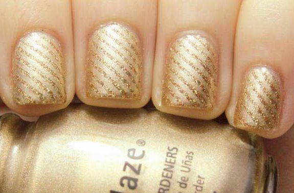 golden ,reindeer Nail Art, Trends