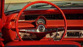 1963 Chevrolet Impala SS Convertible Steering Wheel