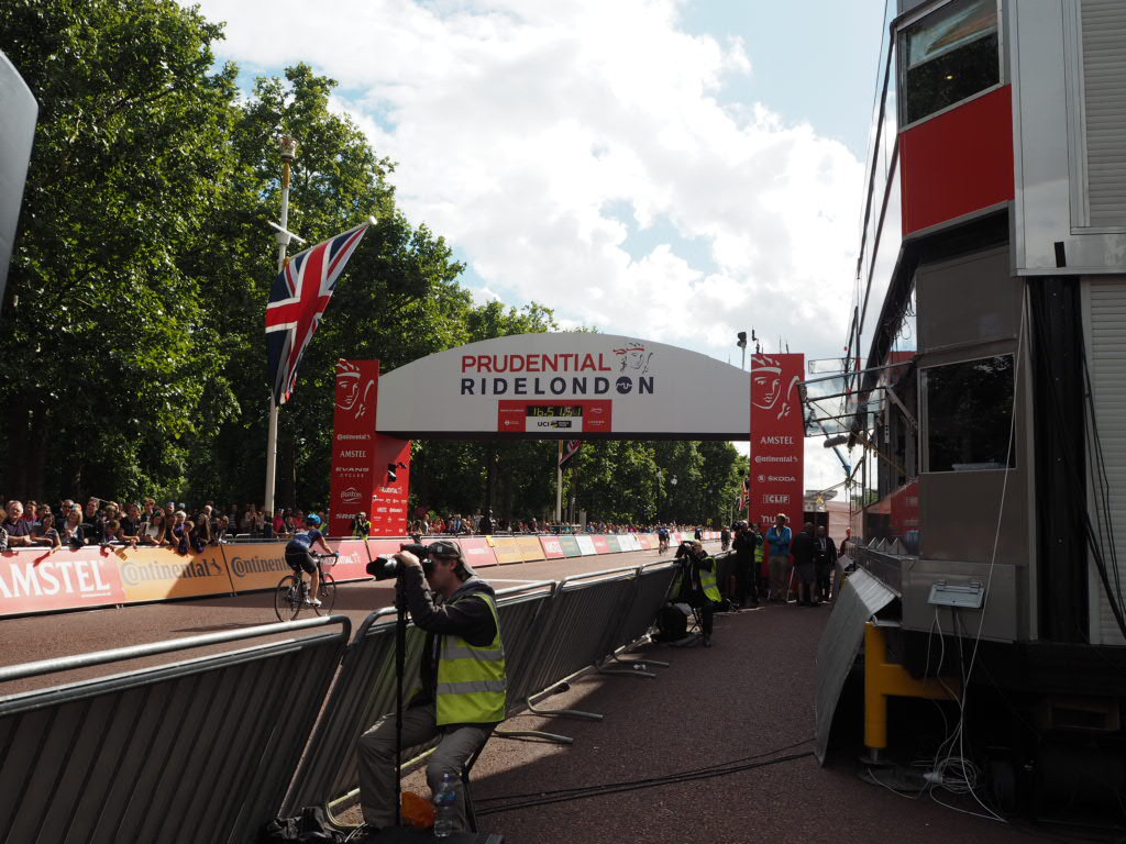 The Ride London Finish Line