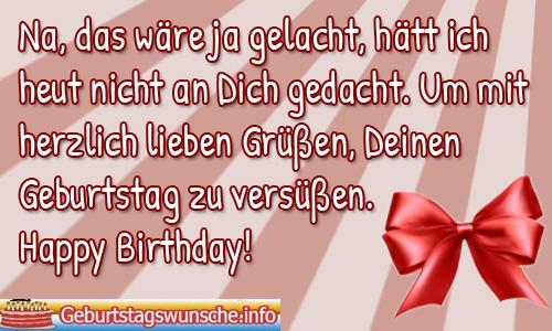 Süße Geburtstagssprüche Webwinkelvanmeurs
