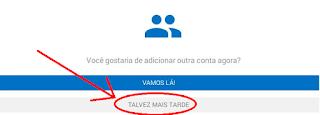 Adicionar conta Hotmail no tablet