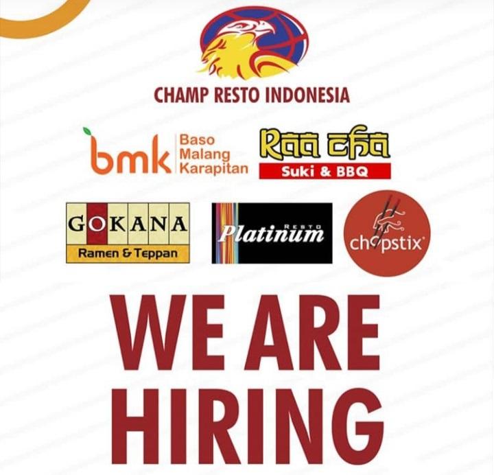 Jadwal Wawancara Kerja di Champ Resto Indonesia