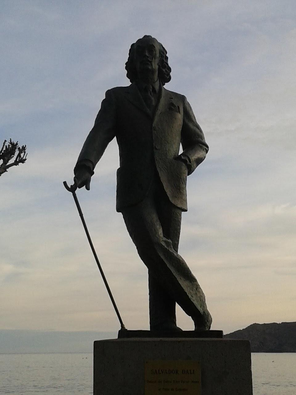 Dalí en Cadaqués