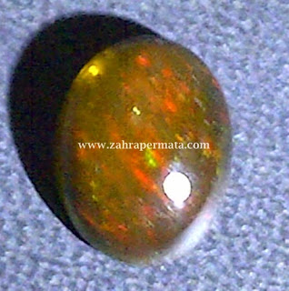 Batu Permata Black Opal Kalimaya - ZP 297