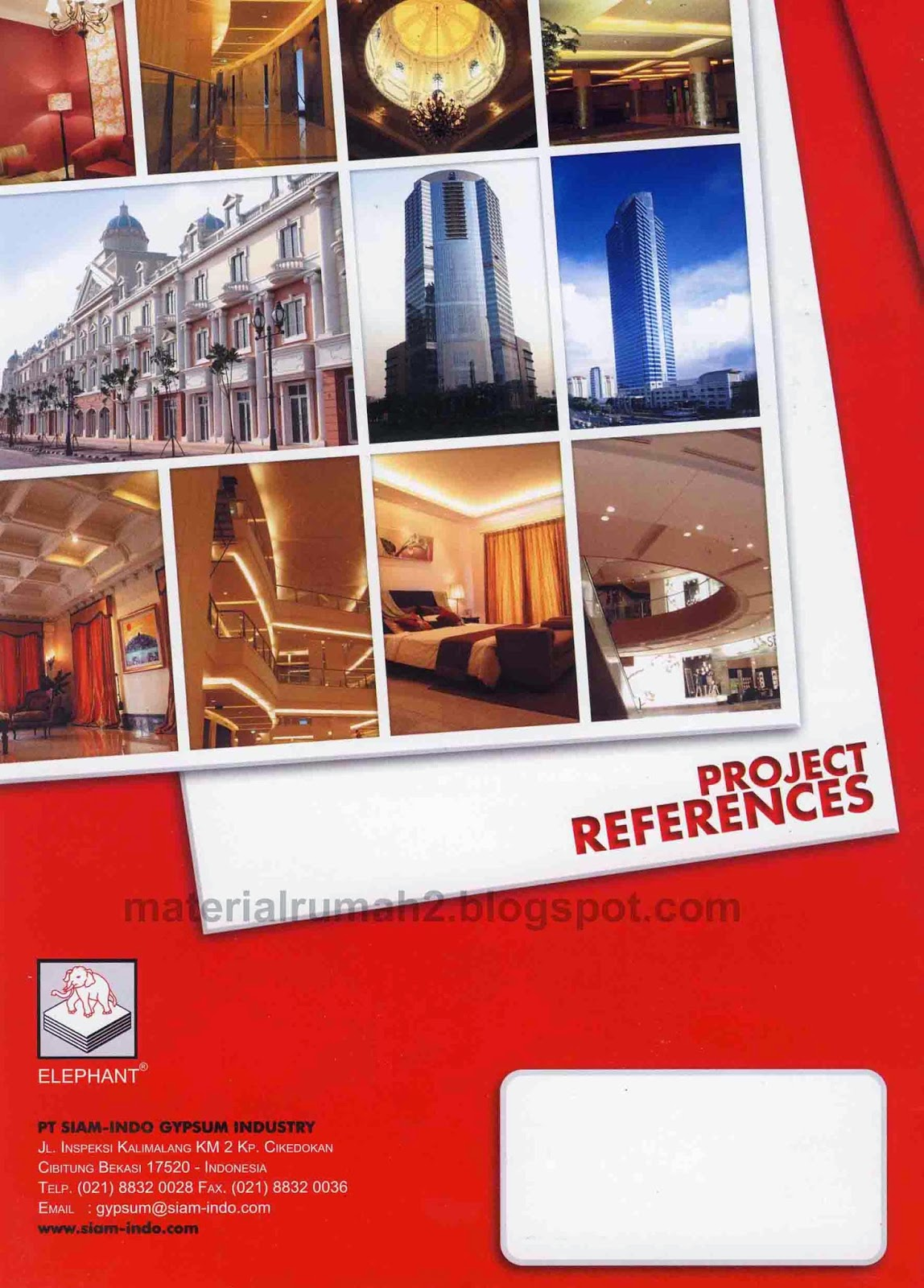 Katalog ELEPHANT GYPSUM BOARD - Project
