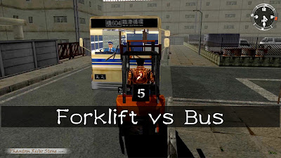 Forklift vs Bus | Shenmue Hack