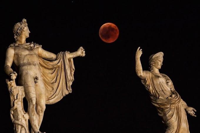 Imágenes del Eclipse Lunar 2018 - 27 Julio