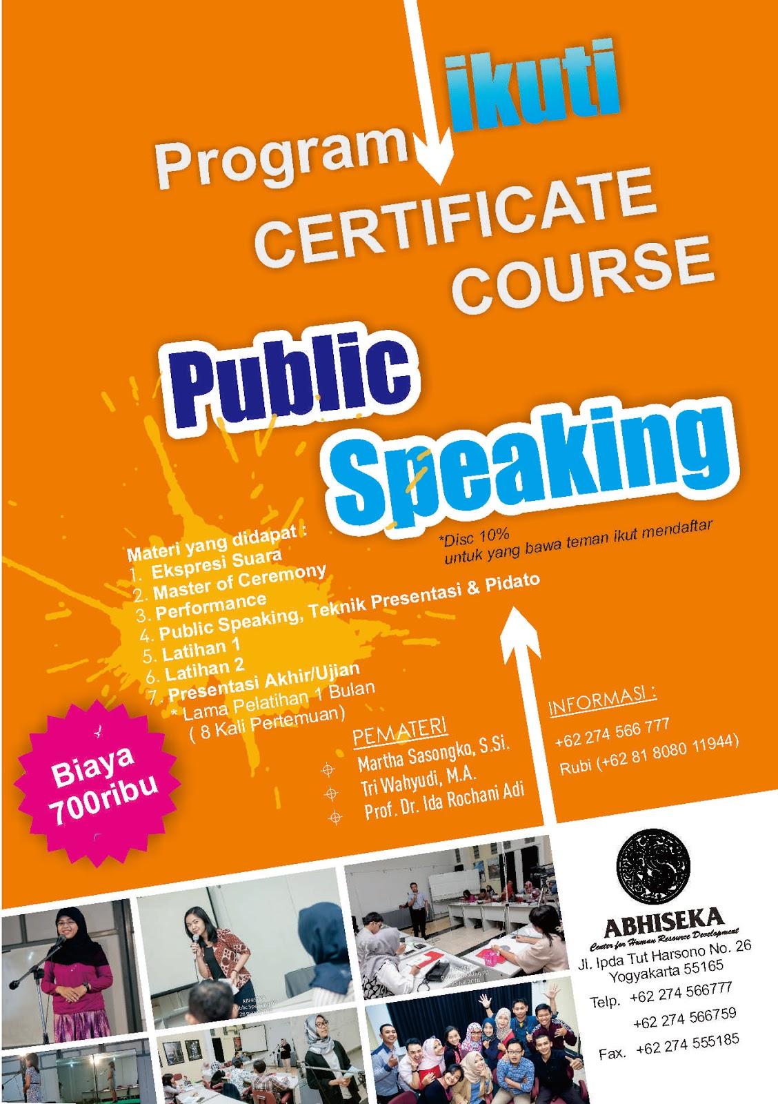 Materi Public Speaking Rubby Blog