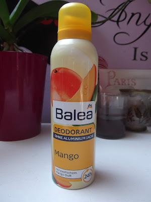 Balea mangový dezodorant
