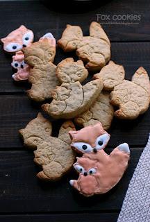 """Бисквити """"Лисичета"""" с аромат и вкус на ябълков щрудел / Fox cookies"""