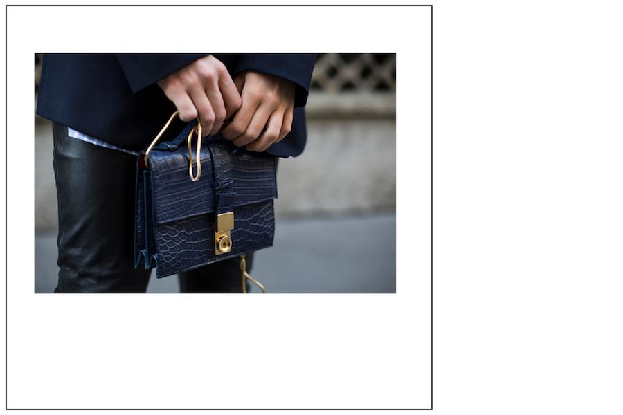 giorgio armani leather