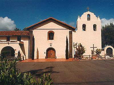 The Church At Mission Santa Ines