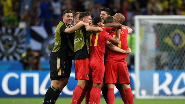 FIFA World Cup 2018: Brazil 1 - 2 Belgium | Brazil The Semi-Finals For The First Time Since 1986.