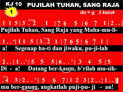 Lirik dan Not Kidung Jemaat 02
