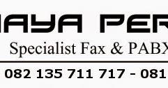 Cara seting faximile Panasonic KX-FT983 ~ Servis Fax Panasonic