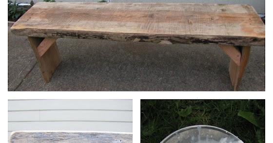 Tarino Bambino: White Wash Bench
