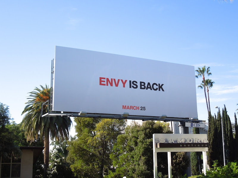 Mad Men season 5 Envy teaser billboard