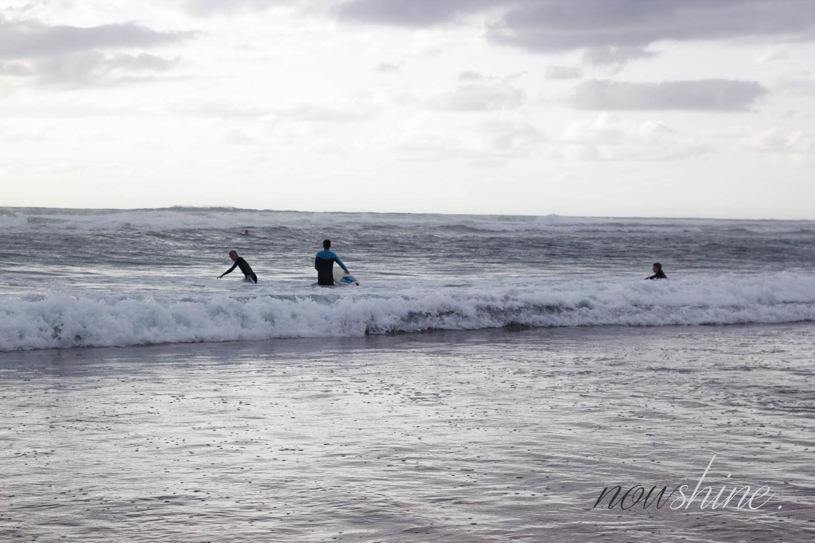 Strand Hossegor Frankreich Surfen