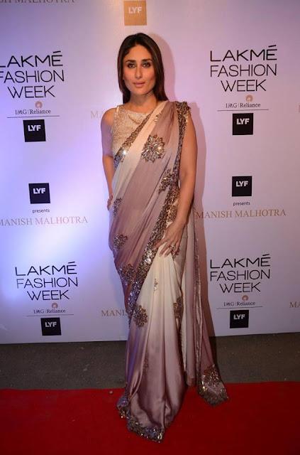Kareena kapoor khan in Lakme Fashion Week