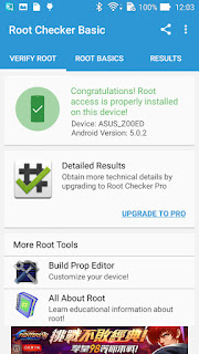 Zenfone 2 Laser Root Success