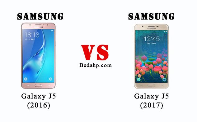 Perbedaan Samsung Galaxy J5 (2017) VS J5 (2016)