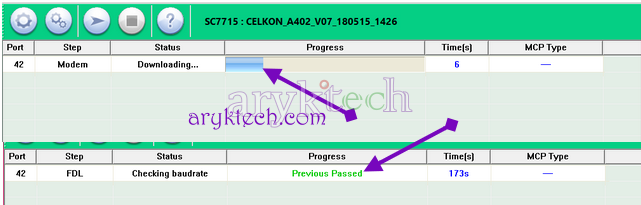 flash iTel Feature Phonen Step 8