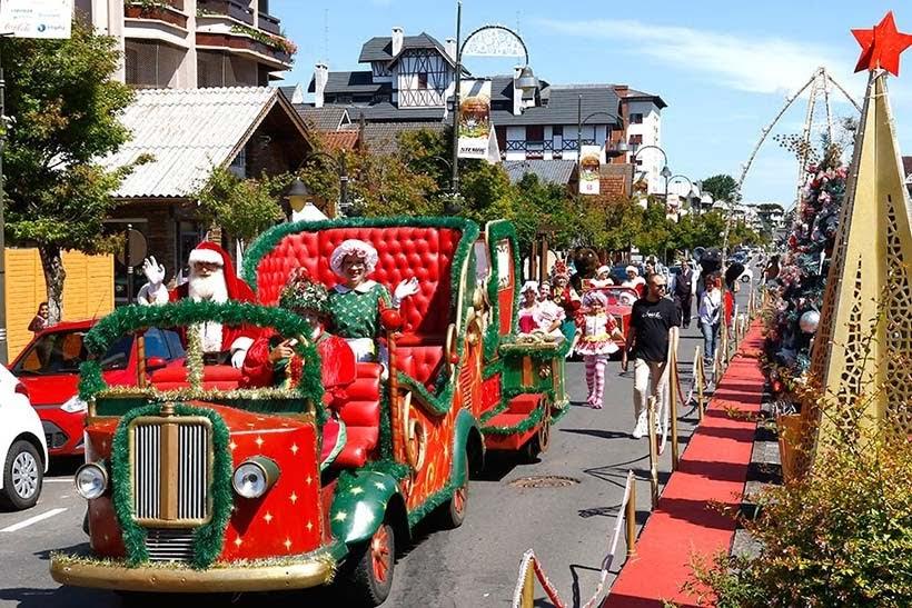 Parada de Natal - Natal Luz de Gramado 2018