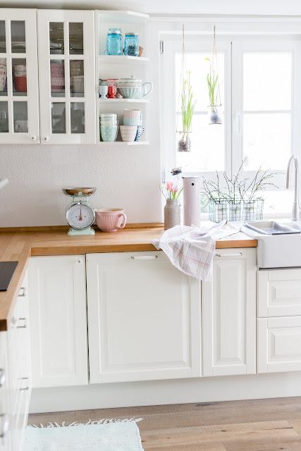 Ikea, schwedische Landhausküche, Interior, Pomponetti