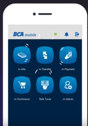 cara top up saldo mtix lewat mobile banking bank BCA