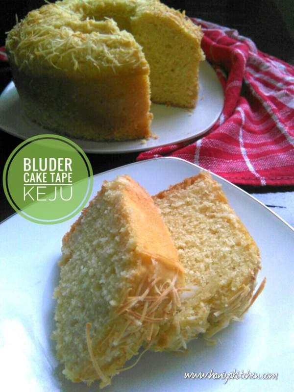 Resep Bluder Cake Tape Keju Khas Manado