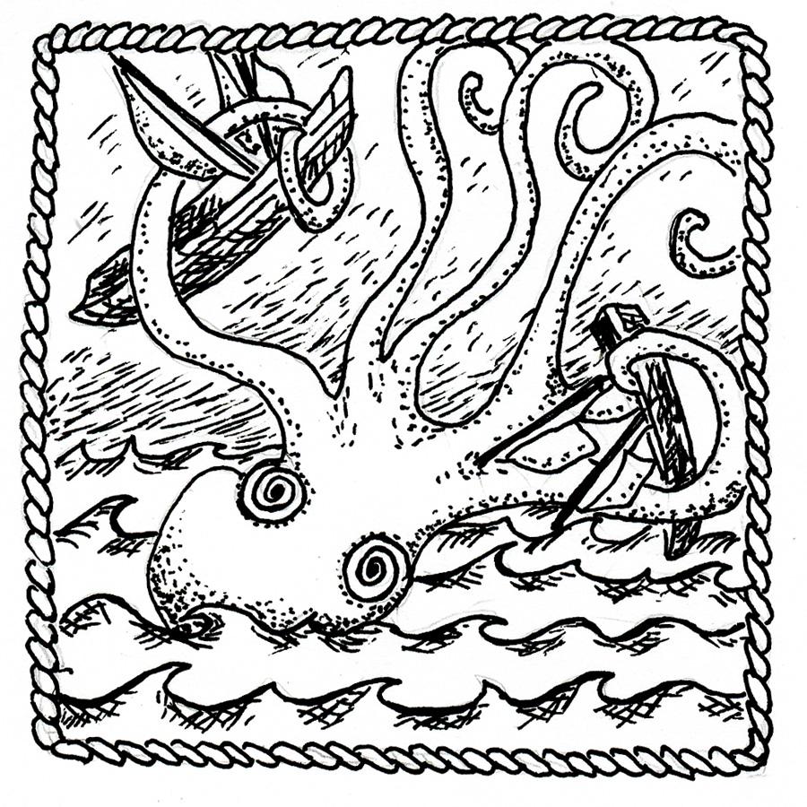 Sylvia Liu Land: Kraken (Sweet Squares #3)