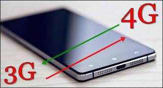 Hp 3g bisa akses jaringan 4G LTE