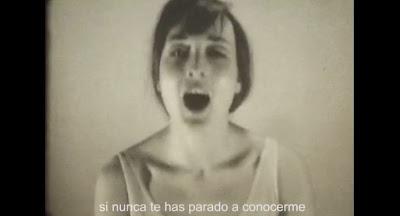 Nereida Fau videoclip Las manos, el calor y Sakamoto con Iván Ferreiro