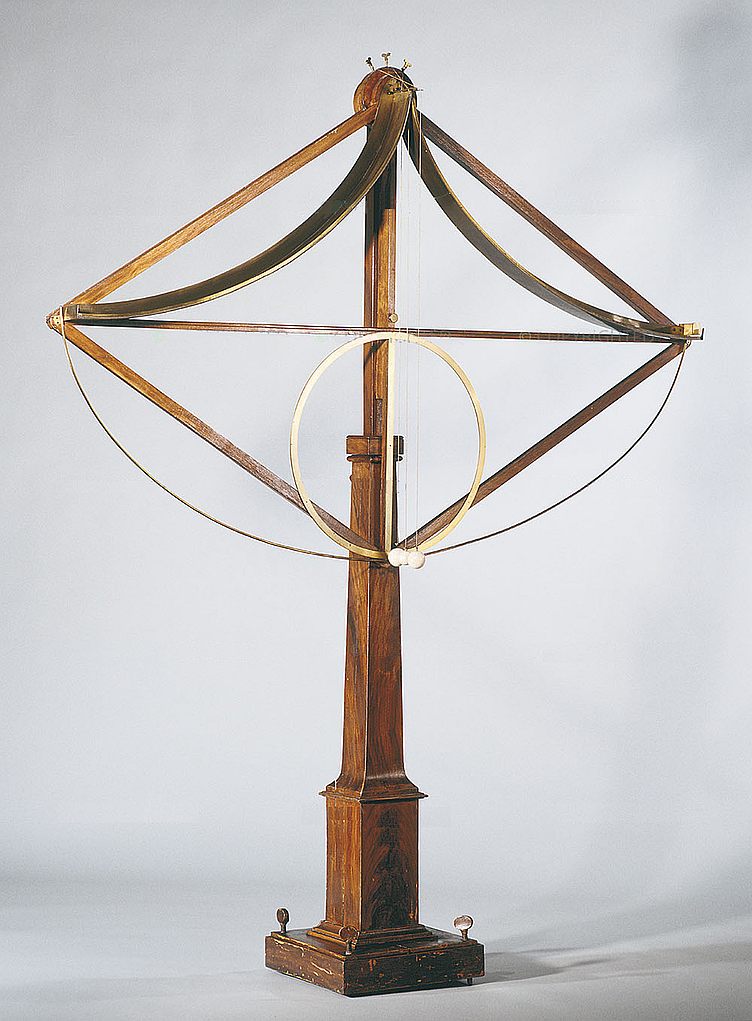 Modelo de pendulo cicloidal de Huygens