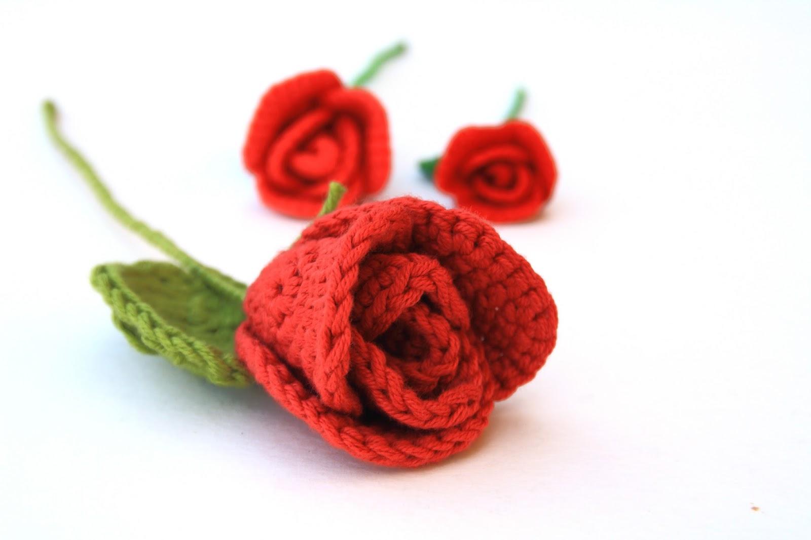 El blog de Dmc: El Club del Patrón: Rosas de ganchillo