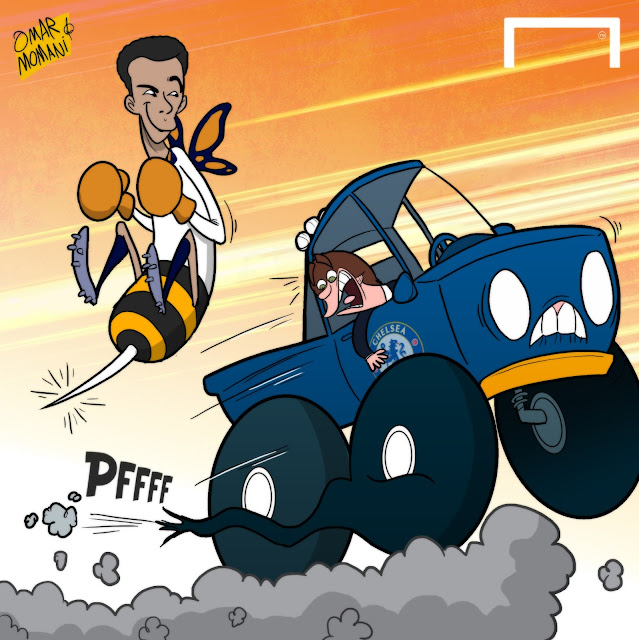Dele Alli cartoon