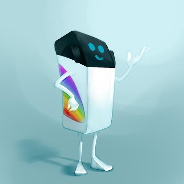 funny transport mascot logo design concept sketch illustration