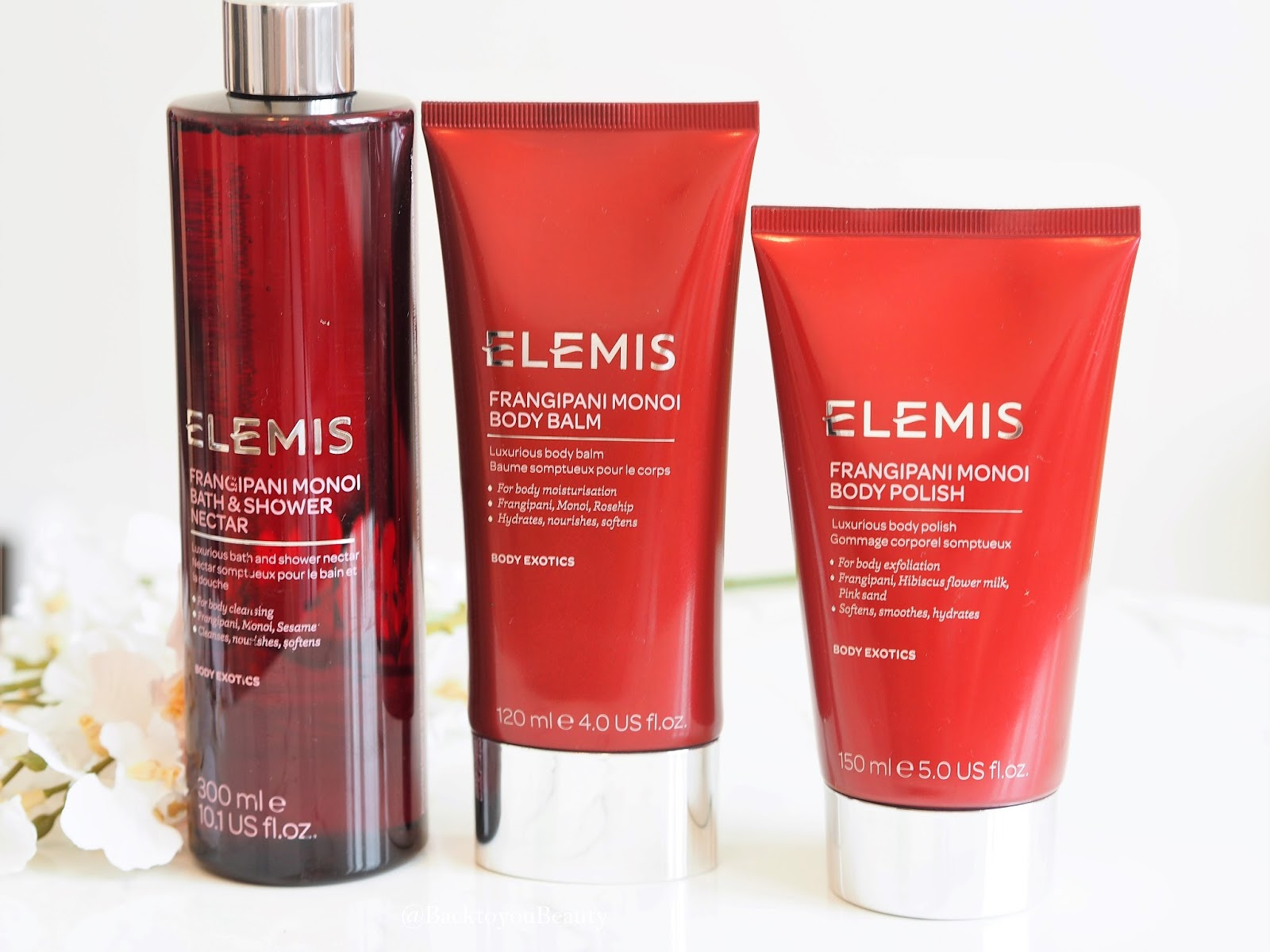 Elemis Frangipani Collection