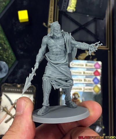 [Review] Mythic, battle for pantheon, les figurines.