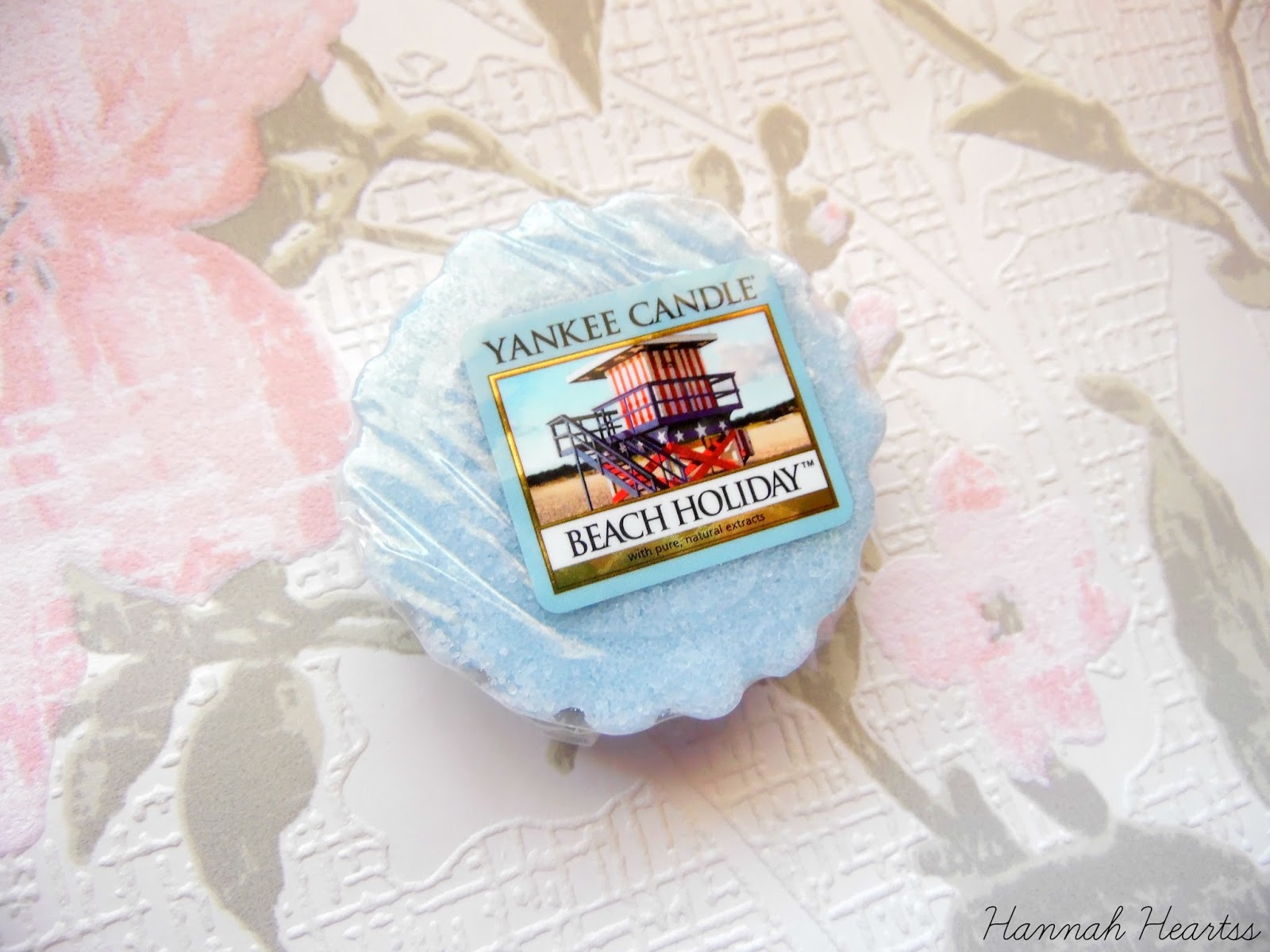 Yankee Candle Beach Holiday Tart Review