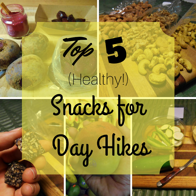 5 of the Healthiest Snacks for Day Hiking