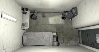 Solitary confinement cell: Entombed alive