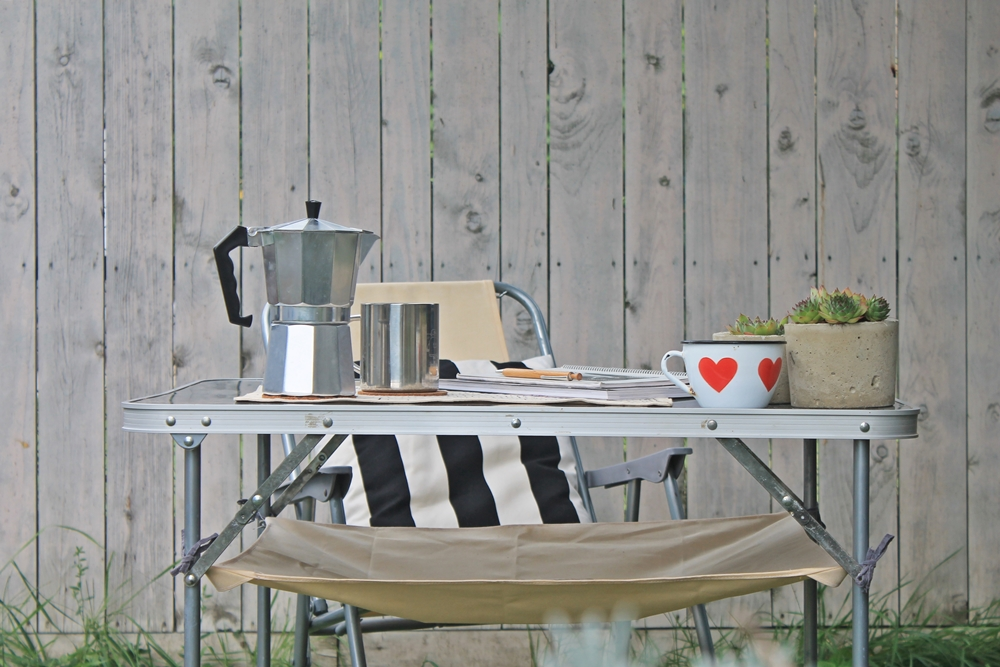 camping table hack diy