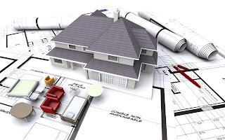 konstruksi bangunan rumah 2 lantai