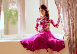 Bidya Sinha Saha Mim Hot In Pink Dress