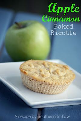 Baked Apple Ricotta