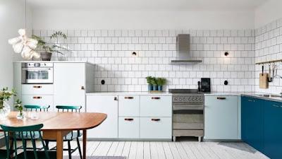 Warna Yang Sering Diapakai Untuk Area Dapur