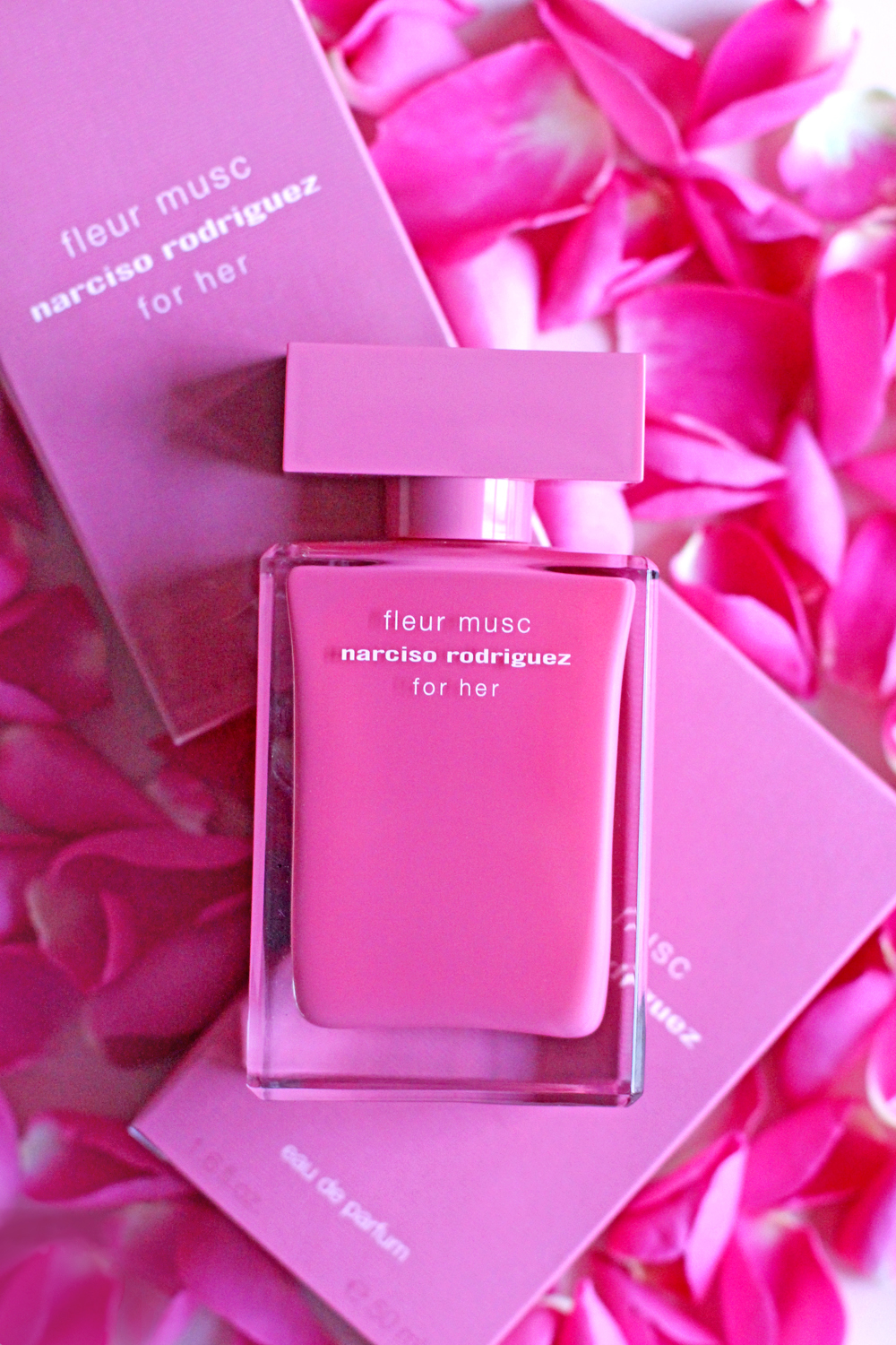 Narciso Rodriguez Fleur Musc eau de parfum perfume - UK beauty blog